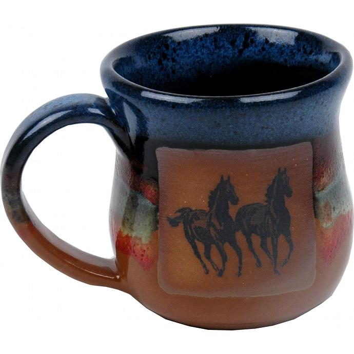 Double Running Horse Azulscape
