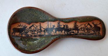 Elkwrap Spoon Rest